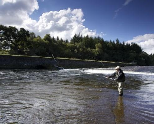 scottish vacation salmon fishing