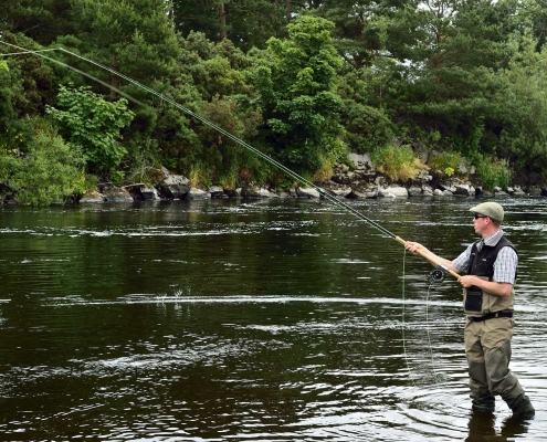 salmon fishing speyside
