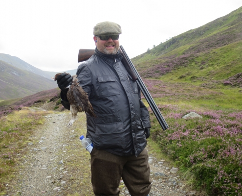 last minute hunting grouse